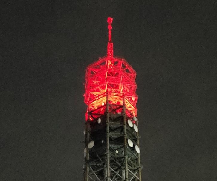 結核予防週間 スカイタワー西東京ライトアップと<br>ライトアップ写真募集のお知らせ
